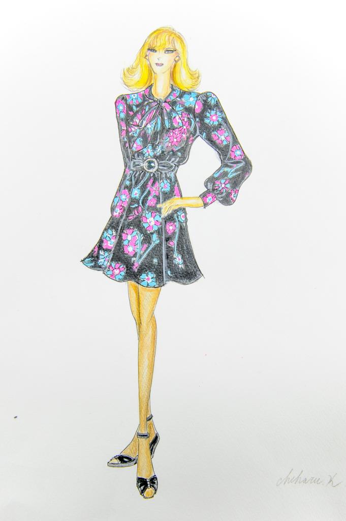 すべての講義 3歳 通信教育 : 大人のファッションデザイン画 ...
